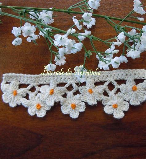 flower pattern edge 375 best images about crochet edging rem on pinterest