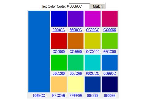 cod color 5 color tools for web design