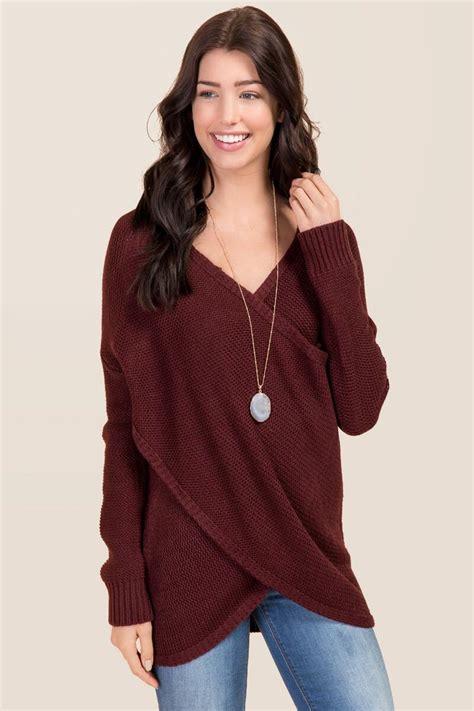 draped sweater kinsley draped sweater francesca s