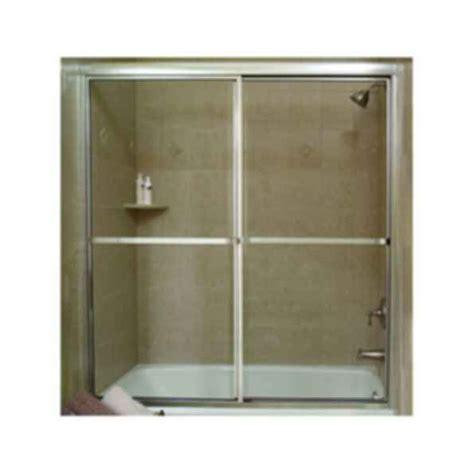 Crystalline Framed By Pass Shower Door Modlar Com Southeastern Shower Doors