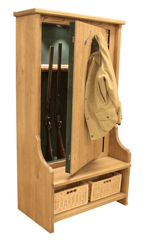 a bench seat from cabinets the bespoke gun cabinets company custom rooms neat stuff