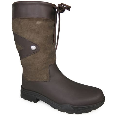Country Boots 58 Leather horka greenwich equine walking leather yard country boot ebay