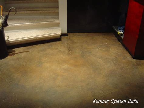 pavimenti in resina cementizia dekoral pavimenti in resina cementizia nuvolati o spatolati