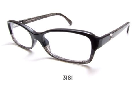 chanel 3181 glasses frames discontinued model