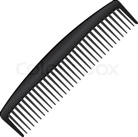Sisir Barbershop comb stock vector colourbox