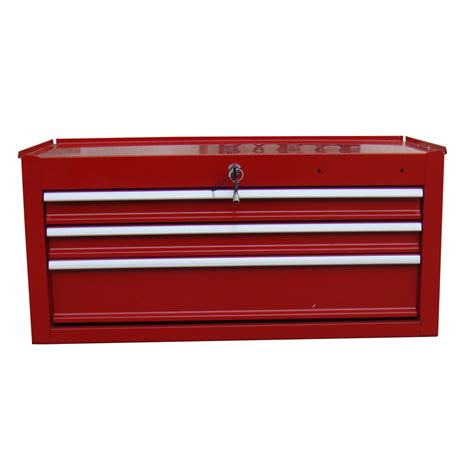shop task force 12 in x 26 in 3 drawer ball bearing steel