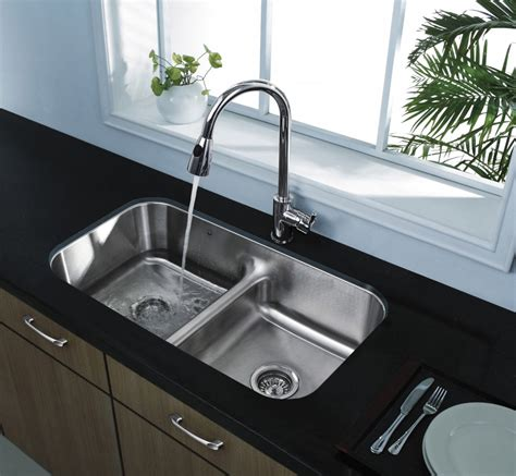 Industrial Kitchen Faucets Stainless Steel by How To Choose Beautiful Kitchen Sinks And Faucets