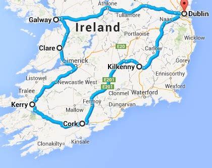 ireland driving tour | ireland driving itinerary | irish