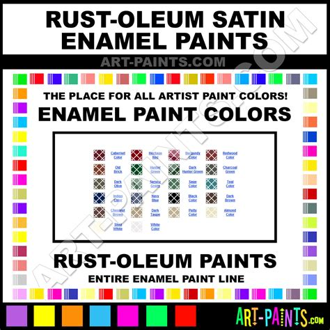 rust oleum satin enamel paint colors rust oleum satin paint colors satin color satin enamels