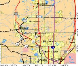 lafayette colorado map crime in lafayette co