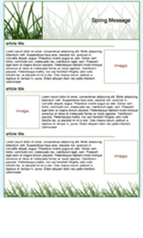 newsletter builder examples  seasonal templates email