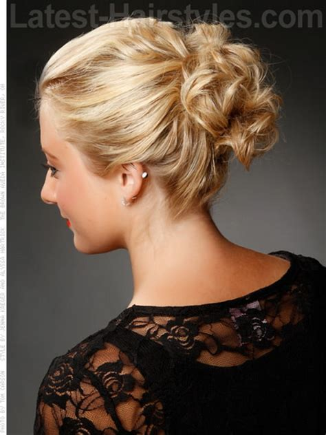 upstyles with shoulder length hair up styles for medium length hair