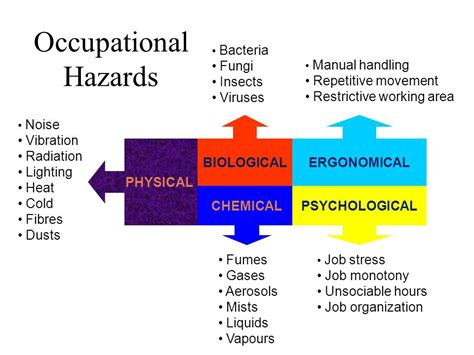Occupational Hazard by Occupational Hazards In The Workplace Ppt