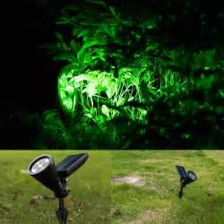 Landscape Spot Light 4 Led Solar Garden L Spot Light Outdoor Lawn Landscape Spotlight Lighting New Ebay