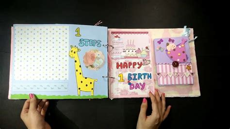 Handmade Baby Book Ideas - baby record book baby record book handmade scrapbook