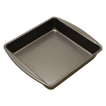 "mainstays non stick 9"" x 9"" x 2"" square cake pan walmart.com"