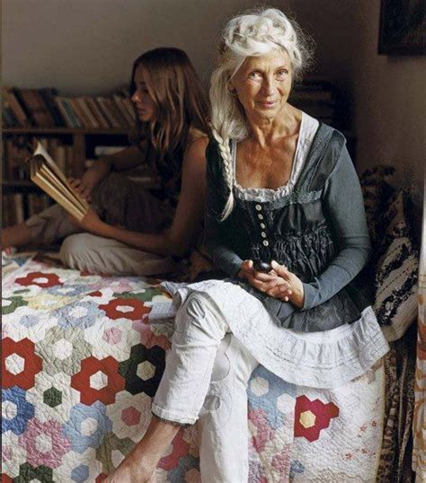 dolores forsythe this is how older ladies pull off boho style for mature women beautiful women over 50 on