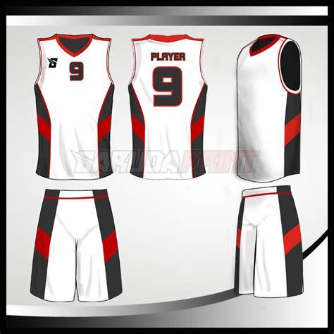 gambar desain jersey basket kaos basket code 02 garuda print garuda print
