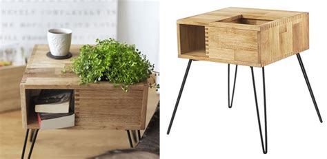 plant table modern furniture scandinavian style side tables for plants