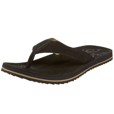 patagonia sandals patagonia mens flop along sandal in black for lyst