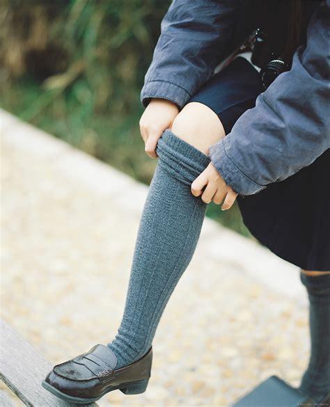 Kaos Kaus Socks Alas Kaki Kaos Kaki Sekolah Sd Smp Sma Kanik 1 gambar sepatu musim dingin gadis vintage imut musim semi warna mode biru