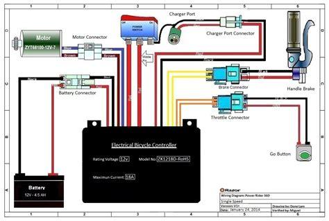 razor powerrider  parts electricscooterpartscom