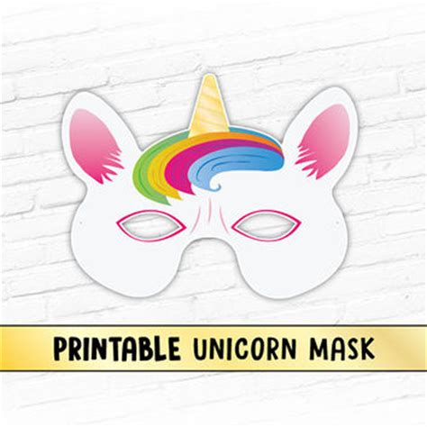 printable unicorn props green apple printable party mask fruit from therasilisk