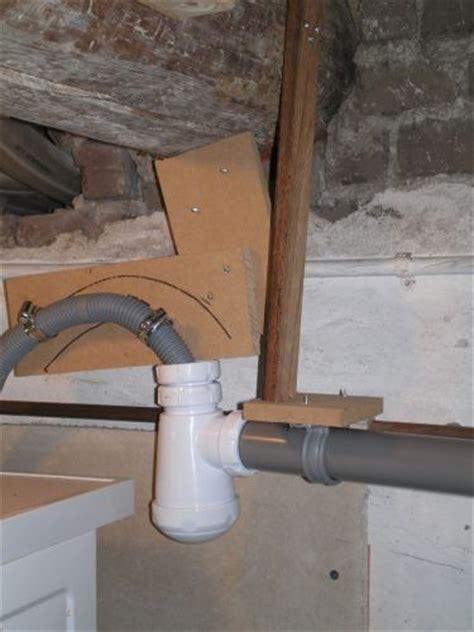 nieuw huis zuiveren afvoer wasmachine direct op hoofdleiding riolering