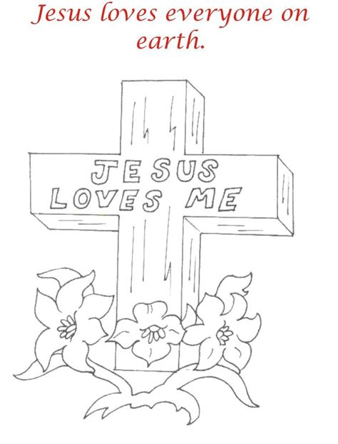 printable coloring pages for good friday good friday coloring printable page for kids 2