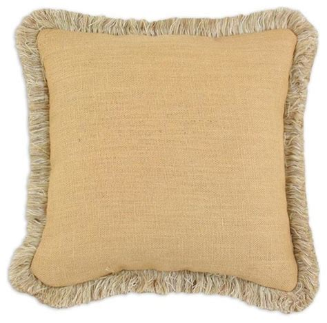 Pillows With Fringe by Custom Fringed Square Pillow Traditional Decorative Pillows