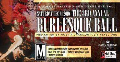 new year 2018 dc new years 2018 3rd annual nye burlesque the