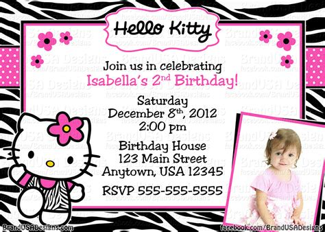 Hello Birthday Invitation Card Template Free by Hello Birthday Invitations Templates Free