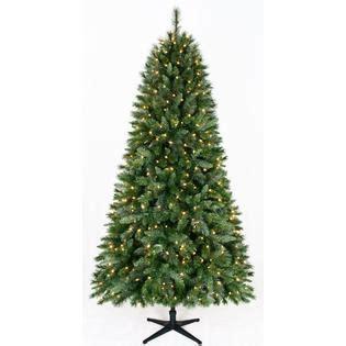 jaclyn smith christmas tree smith 7 5ft houston pine shine with kmart
