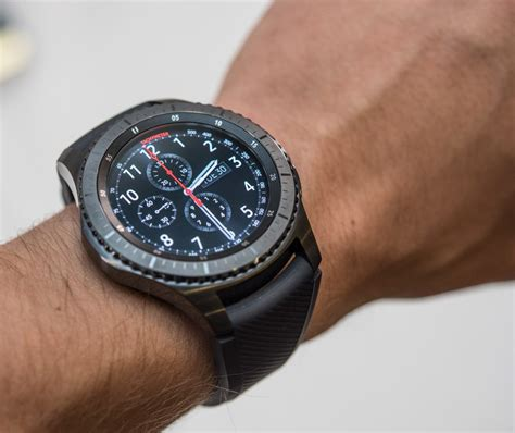 samsung gear s3 frontier classic smartwatch on debut ablogtowatch