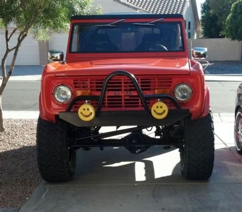 bronco jeep 1976 ford bronco 4x4 jeep car rod