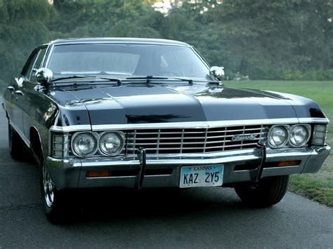the impala 1967 chevy impala from supernatural prettymotors