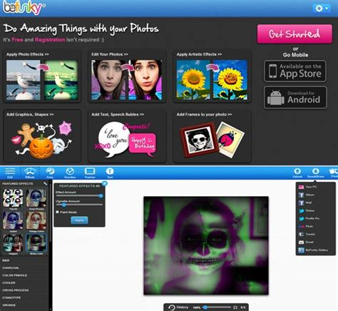 design effect online 10 best cool amazing funny photo effects online for free