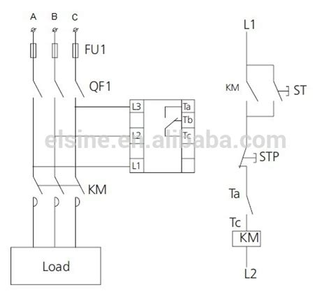 phase failure relay wiring diagram 34 wiring diagram
