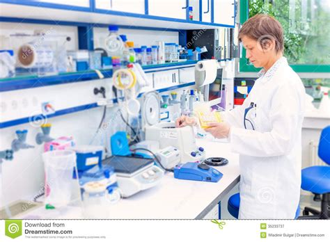 what is a bench technician technician in the microbiology royalty free stock photography image 35233737