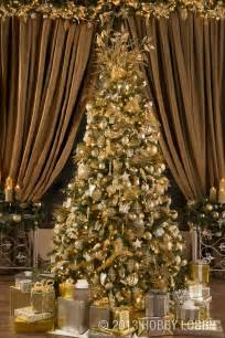 make your christmas tree sparkle bright with gold and