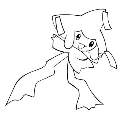 pokemon coloring pages flygon jirachi pokemon coloring sheets images pokemon images