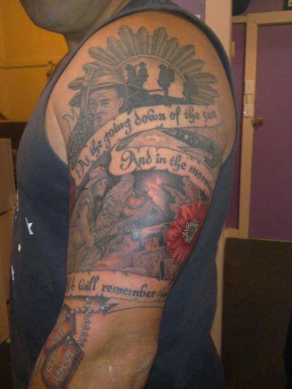 australian tattoo designs for men lest we forget australian army anzac sleeve idea