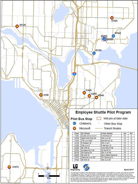 seattle map program seattle launches shared transit stops with microsoft and