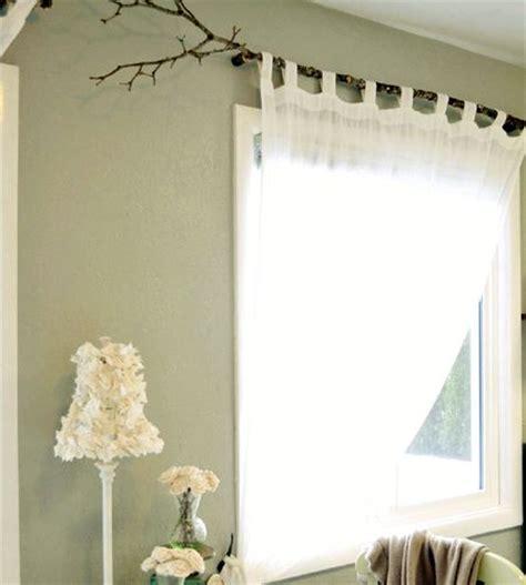 tree branch curtain rod  diy tutorials guide patterns