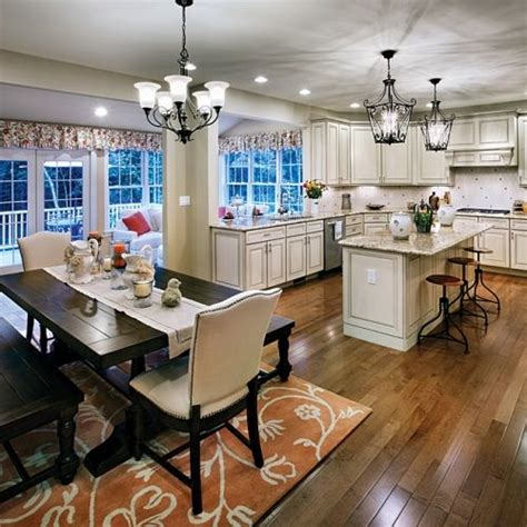 kitchen dining room combo floor plans best 25 kitchen dining rooms ideas on pinterest kitchen