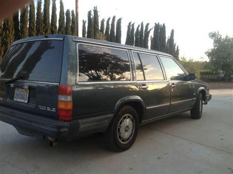 1985 volvo 740 gle buy used 1985 volvo 740 gle sedan 4 door 2 3l in tulare