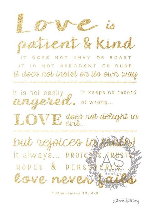 Wedding Bible by Glitter Gold 1 Corinthians 13 4 8 Quot Never Fails