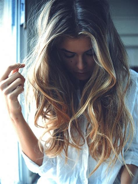 ombre hairstyles trendy long hair for girls popular