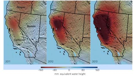 nevada water table depth california drought is driving the depletion of