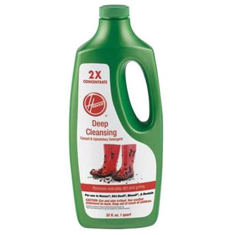 upholstery cleaner home depot hoover 32 oz deep cleaning carpet and upholstery